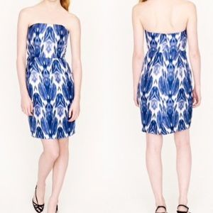 •J.Crew• Collection Silk Ikat Dress
